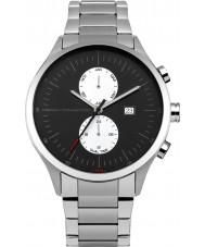 French Connection FC1266BSM Reloj para hombre pulsera de acero de plata