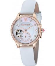 Thomas Earnshaw ES-8029-03 Señora australis reloj correa de satén blanco