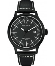 Nautica A12604G Mens NCT 150 reloj negro