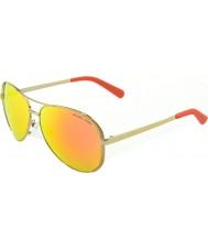 Michael Kors Mk5004 59 Chelsea naranja 10146q oro refleja las gafas de sol