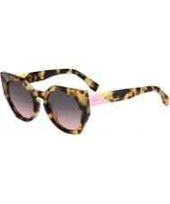 Fendi Facetas ff 0151-s 00f es manchada gafas de sol La Habana