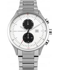 French Connection FC1266SM Reloj para hombre pulsera de acero de plata