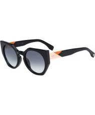 Fendi Facetas FF 0151-s gafas de sol negras 807 jj