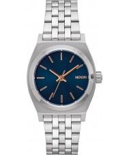 Nixon A1130-2195 Señoras de mediana reloj de plata cajero
