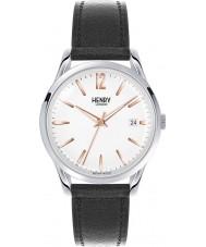 Henry London HL39-S-0005 reloj negro blanco Highgate