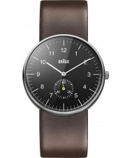Braun BN0024BKBRG Reloj para hombre marrón negro