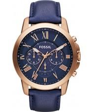 Fossil FS4835 Mens conceden reloj cronógrafo de la marina de guerra