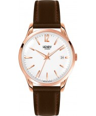 Henry London HL39-S-0028 Richmond reloj marrón blanco