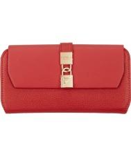 Fiorelli FS0861-RED pillar box damas Evie aleta roja sobre el monedero