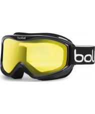 Bolle 20573 Mojo brillante negro - gafas de esquí de limón