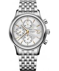 Maurice Lacroix LC6158-SS002-130-1 Mens les classiques reloj cronógrafo automático de plata