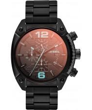 Diesel DZ4316 desbordamiento para hombre ip negro reloj cronógrafo