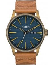 Nixon A105-2731 Reloj de cuero para hombre
