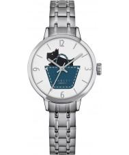 Radley RY4239 Damas enlace Radley acero de plata reloj pulsera
