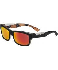 Bolle naranja negro gafas de sol de fuego TNS Jude mate