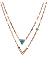 Fossil JF02644791 Collar de mujer