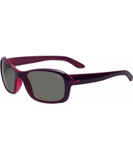 Cebe violeta idilio gafas de sol de cristal de color rosa