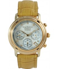 Krug-Baumen 150574DL Las señoras reloj cronógrafo principio de diamante