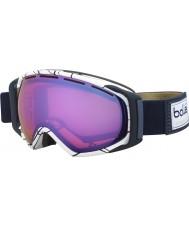 Bolle 21456 La gravedad blanco y azul - gafas de esquí aurora