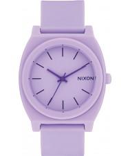 Nixon A119-2287 reloj de pulsera de caucho cajero violeta Tiempo