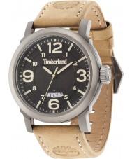 Timberland 14815JSU-02 Mens Berkshire reloj de la correa de cuero beige