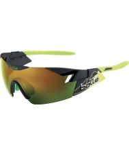 Bolle 6 ° sentido de humo mate gafas de sol esmeralda verde marrón