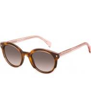 Tommy Hilfiger Damas th 1437-s lq8 gafas de sol de color rosa 3x La Habana