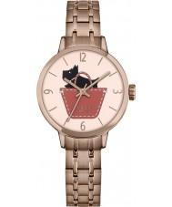 Radley RY4242 Damas enlace Radley chapado en oro rosa reloj pulsera