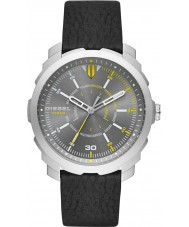 Diesel DZ1739 Mens machinus reloj de la correa de cuero negro