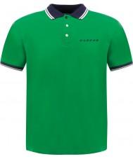 Dare2b DMT318-3BL80-XL Para hombre de caminata en virtud de la regla camisa de polo verde - el tamaño de xl