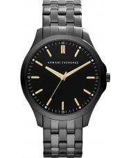 Armani Exchange AX2144 reloj del vestido de la pulsera de acero ip negro de los hombres
