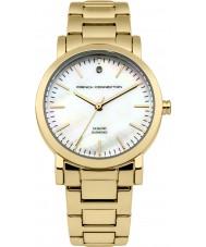 French Connection FC1250GM Chapado en oro de las señoras reloj pulsera