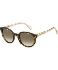 Tommy Hilfiger Señoras de las gafas de sol de color beige amarillo th Habana 1437-s KY1 j6