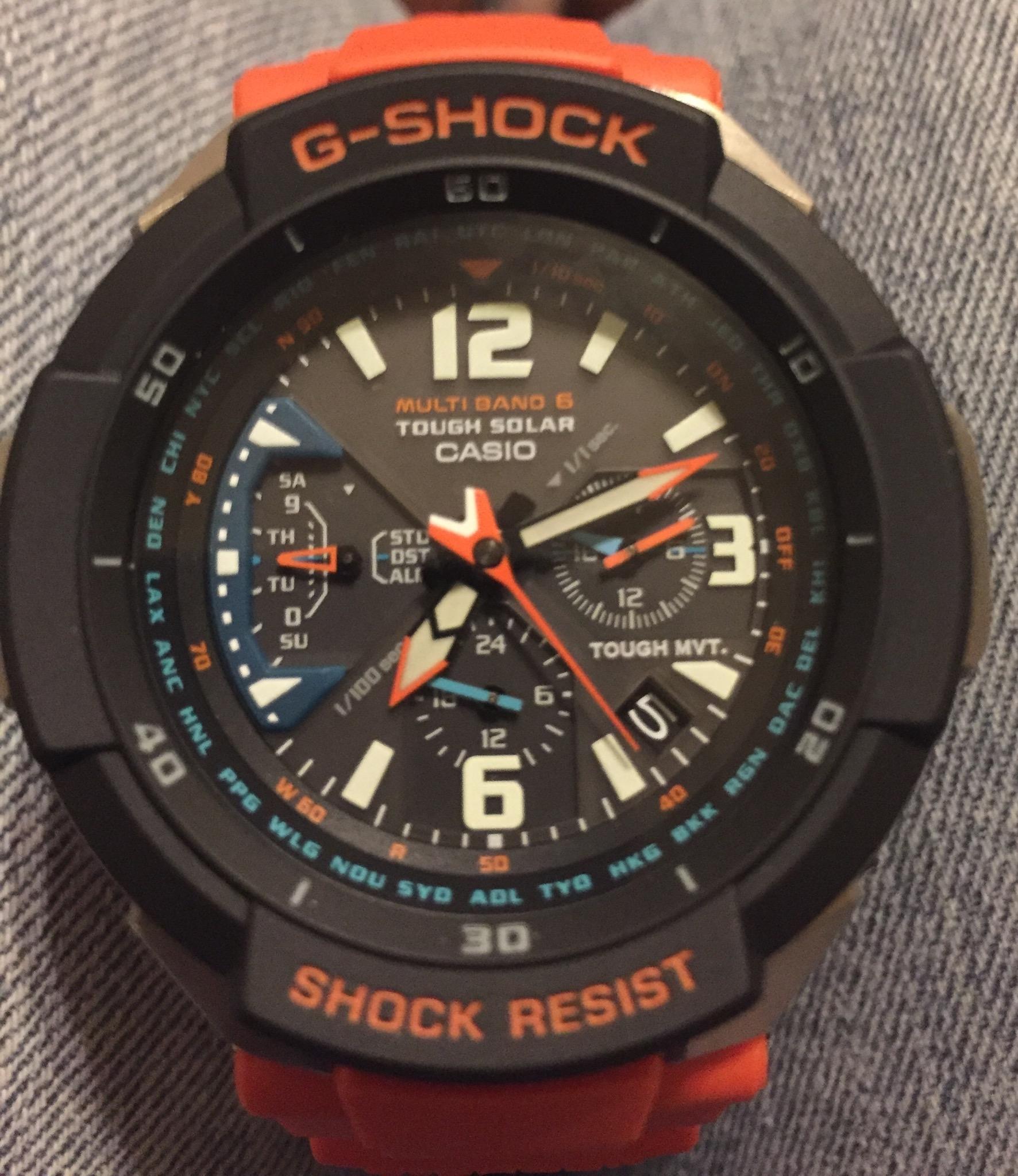 d548cf4b187c Orange GW-3000M-4AER Casio G-Shock Watch